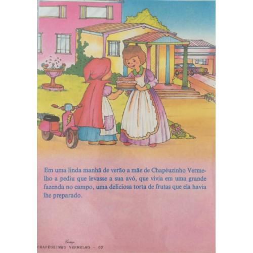 Papel de Carta CARTIUGE Personagens Chapeuzinho Vermelho 02