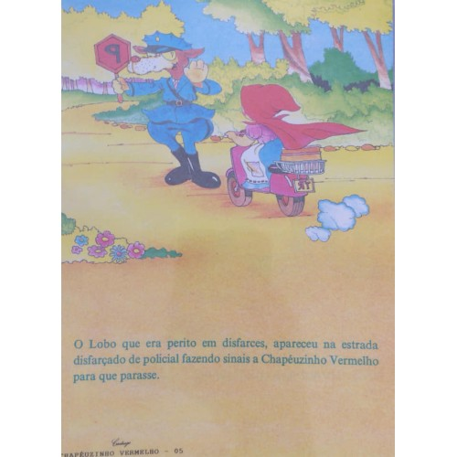 Papel de Carta CARTIUGE Personagens Chapeuzinho Vermelho 05