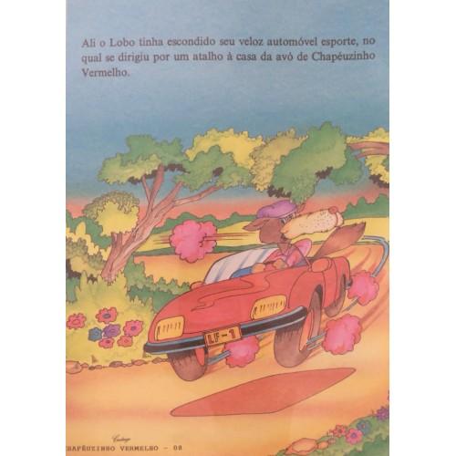 Papel de Carta CARTIUGE Personagens Chapeuzinho Vermelho 08