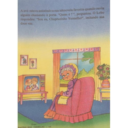Papel de Carta CARTIUGE Personagens Chapeuzinho Vermelho 09