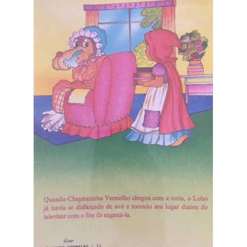 Papel de Carta CARTIUGE Personagens Chapeuzinho Vermelho 11