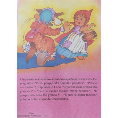 Papel de Carta CARTIUGE Personagens Chapeuzinho Vermelho 12