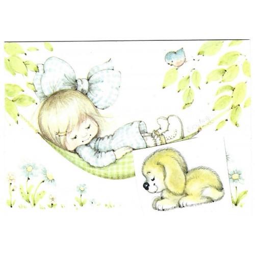 Postalete Antigo Importado Susy Angel ANGELOVE CAZ Ambassador Cards