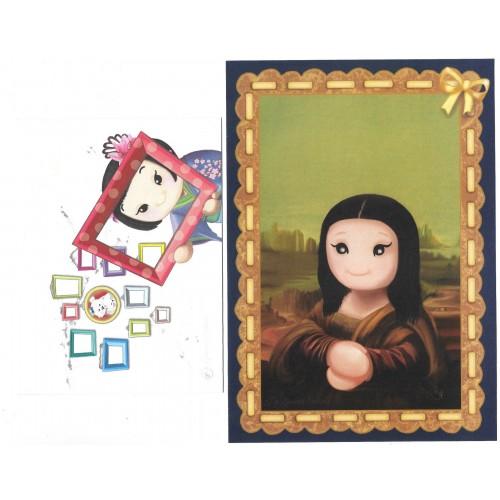 Ano 2019 Ma Tuzi Conjunto de Papel de Carta Coleção Grandes Pinturas 4