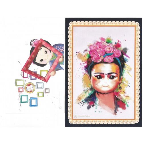 Ano 2019 Ma Tuzi Conjunto de Papel de Carta Coleção Grandes Pinturas 6