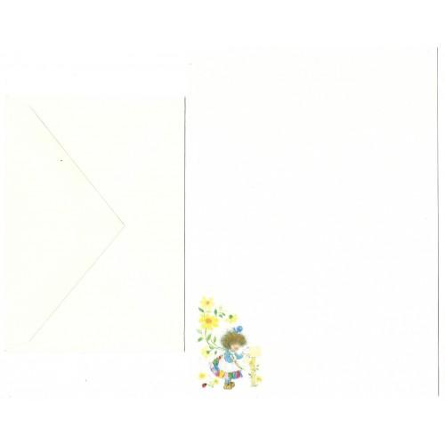Conjunto de Papel de Carta Antigo Importado Mail