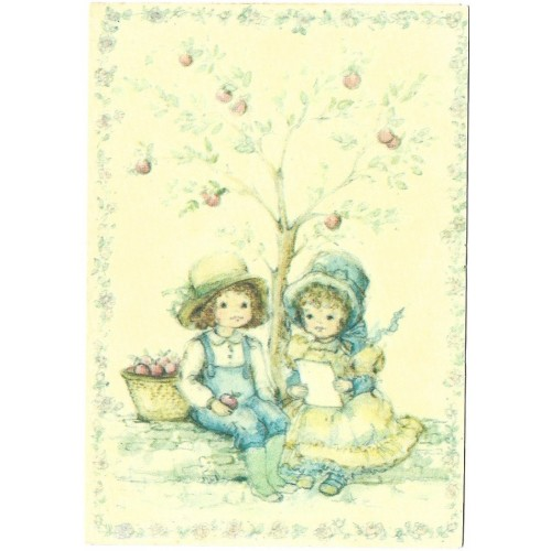 Notelette Antigo Importado Apple Tree - Hallmark