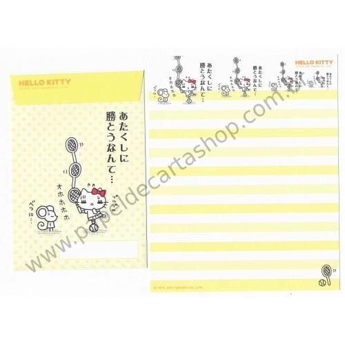 Ano 2007. Conjunto de Papel de Carta Hello Kitty Feelings FCAM3 Sanrio