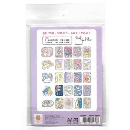 Kit de ADESIVOS Little Twin Stars Sanrio
