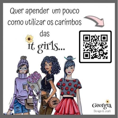 Carimbo It Girl Linha Planner - Paloma - Lilipop Carimbos