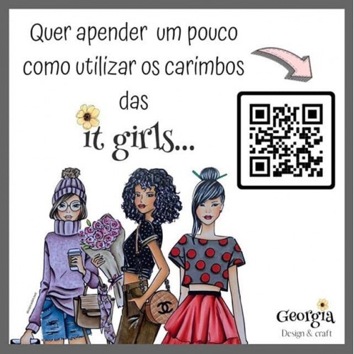 Carimbo It Girl Linha Planner - Dani - Lilipop Carimbos