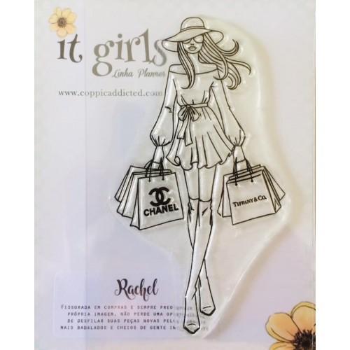Carimbo It Girl Linha Planner - Rachel - Lilipop Carimbos