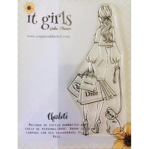 Carimbo It Girl Linha Planner - Charlote - Lilipop Carimbos