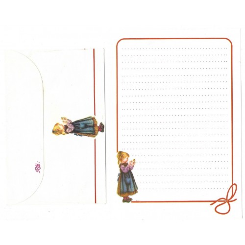 Conjunto de Papel de Carta ANTIGO Lisi Martin 5