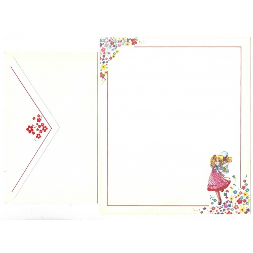 Conjunto de Papel de Carta CANDY CANDY Japan