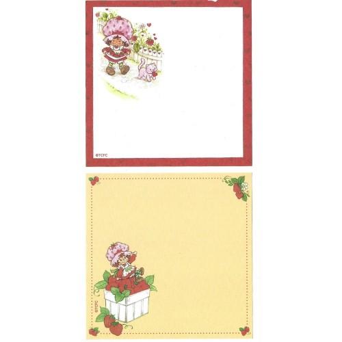 Ano 2003. Kit 2 NOTAS Importadas Moranguinho Strawberry Shortcake L1