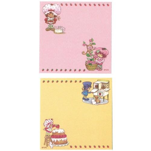 Ano 2003. Kit 2 NOTAS Importadas Moranguinho Strawberry Shortcake L2
