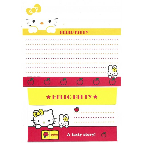 Ano 2000. Kit 3 Conjuntos de Papel de Carta Hello Kitty Sanrio