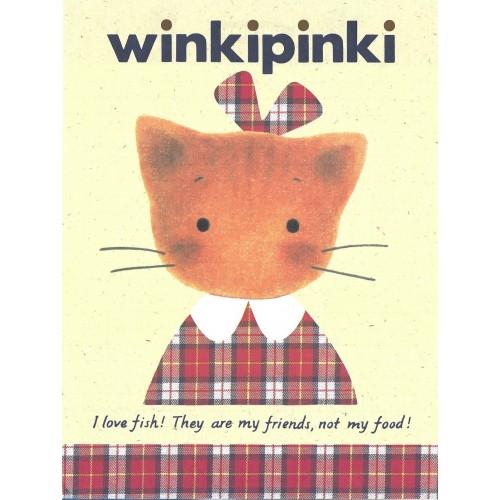 Ano 1991. Papel de Carta AVULSO Winkipinki CRE Vintage Sanrio