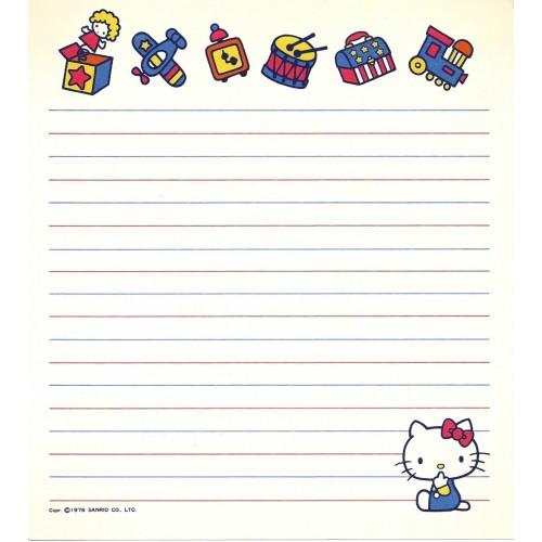 Ano 1976. Papel de Carta AVULSO Hello Kitty Vintage Happy Days Sanrio