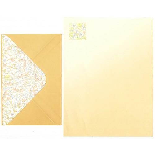 Conjunto de Papel de Carta Flores (CAM)