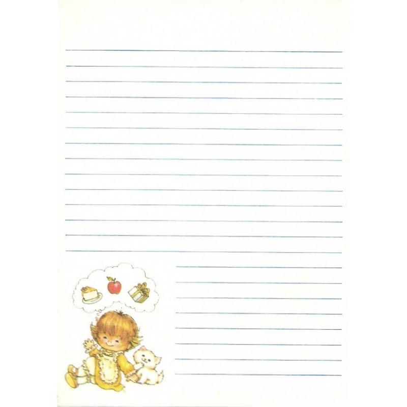 Papel de Carta AVULSO Menininhas 159 Morehead