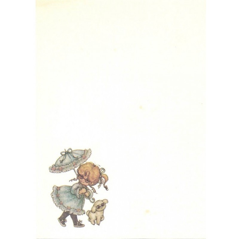 Papel de Carta AVULSO Menininhas 165 Morehead