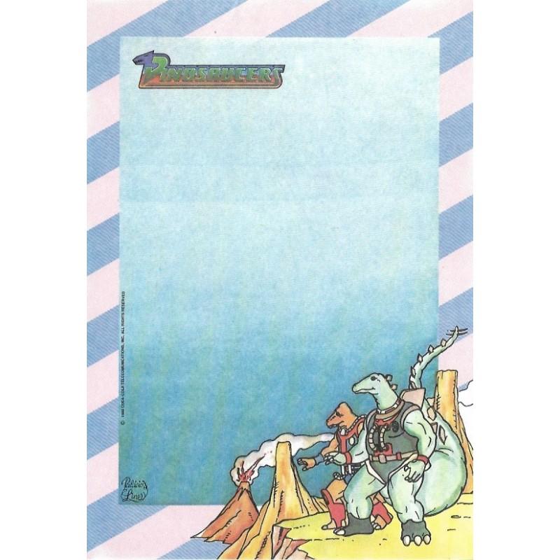 Papel de Carta AVULSO Coleção Palacio's Line Dinosaucers (CRA)