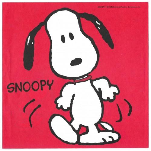 Conjunto de Papel de Carta Snoopy RED Vintage Hallmark