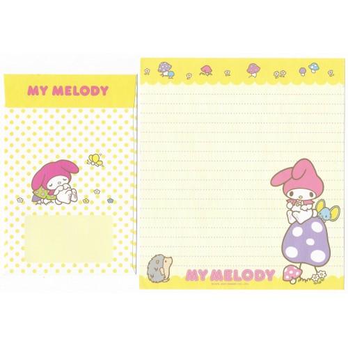 Ano 2007. Conjunto de Papel de Carta My Melody CAM Sanrio