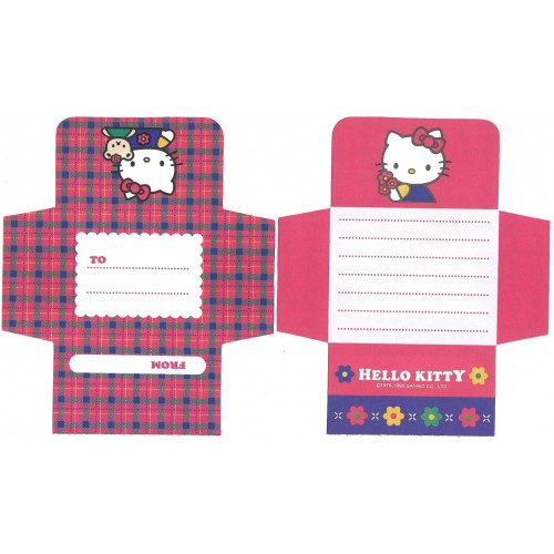 Ano 1995. Papel de Carta AVULSO Hello Kitty Antigo Vintage Sanrio