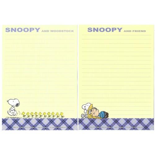 Kit 4 Papéis de Carta Snoopy & Friend Antigo (Vintage) Peanuts