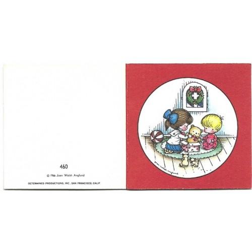 Ano 1966. MICRO Notecard CVM Joan Walsh Anglund Hmk