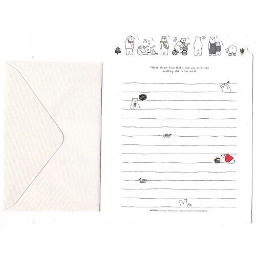 Conjunto de Papel de Carta Happy Day Artbox Korea