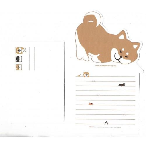 Conjunto de Papel de Carta Happiness Every Day Artbox Korea