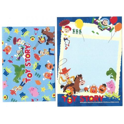 Conjunto de Mini-Papel de Carta Toy Story BLUE 1 Pixar Disney
