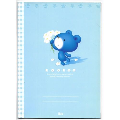 Caderno BROCHURA ROOROO Bear CAZ - IBIS Korea