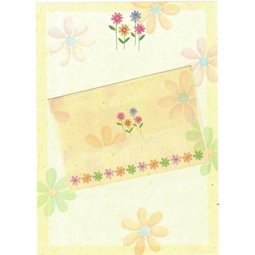 CAPA & Conjunto de Papel de Carta Shinn Jee Flower P180153-3