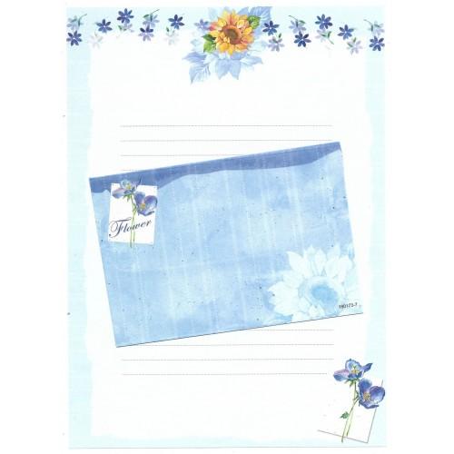 CAPA & Conjunto de Papel de Carta Shinn Jee Flower P180173-7