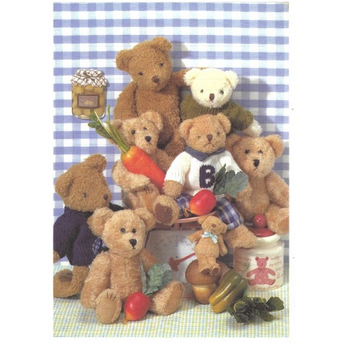 Conjunto de Papel de Carta Importado Bears MIK LT-362x