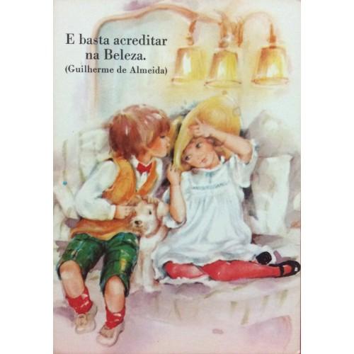 Cartão Postal ANTIGO DOÇURA 13/3 AMBROSIANA