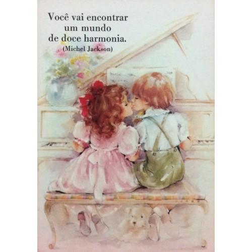 Cartão Postal ANTIGO DOÇURA 13/4 AMBROSIANA