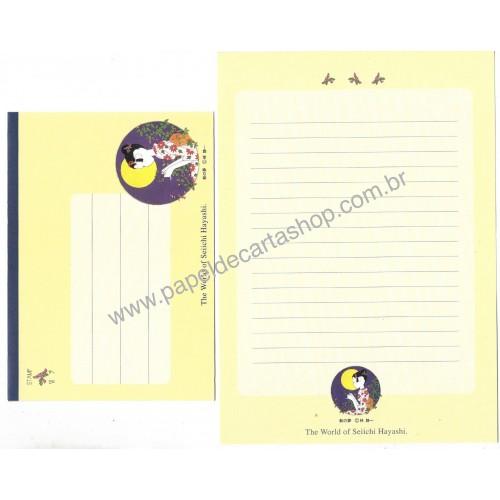 Conjunto de Papel de Carta Antigo The World of Seiichi Hayashi CAM