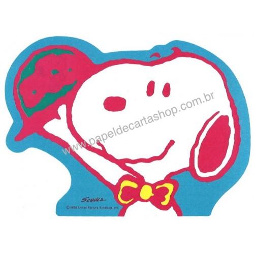 Papel de Carta Snoopy DCAZ Antigo Vintage Hallmark Japan