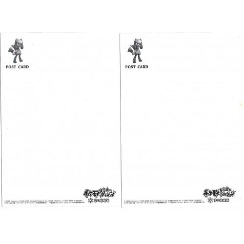 Kit 2 Postcards Postais Nintendo Creatures Pokemon Game Freak Chunsoft Japan