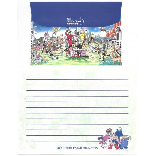 Conjunto de Papel de Carta Importado 2001 TEZUKA OSAMU CHARACTERS