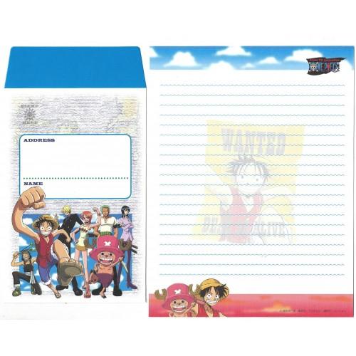 Conjunto de Papel de Carta One Piece JAPAN