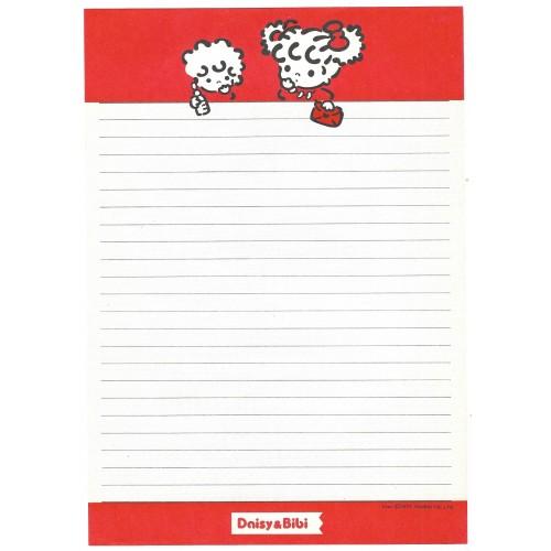 Ano 1977. Papel de Carta Peek-a-Boo Daisy's Story Sanrio