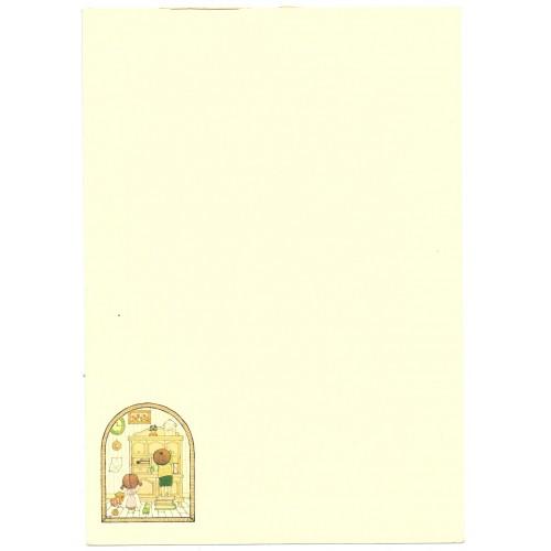 Ano 1976. Papel de Carta AVULSO Small People R Sanrio