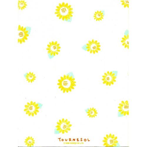 Ano 1986. Papel de Carta AVULSO TOURNESOL Vintage Sanrio